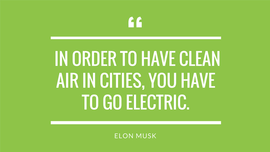 Elon Musk Electric Vehicle Quote