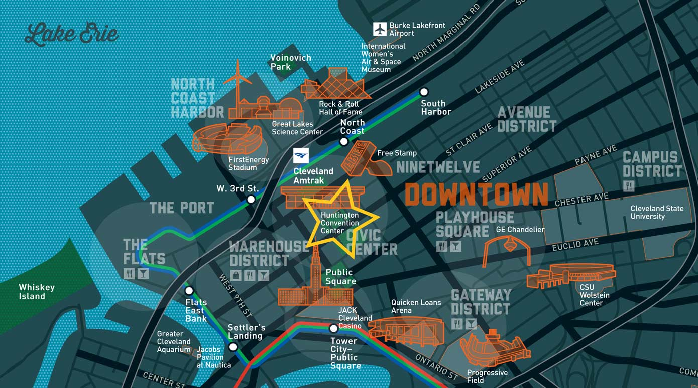 Cleveland Event Map